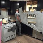 Silver Cloud Granite Kitchen 3 Titan Granite St Louis Mo