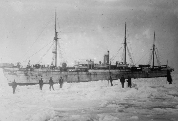 The cable ship Minia was used to recover 17 bodies from the sinking including that of Charles M. Hays, President of the Grand Trunk Railway.