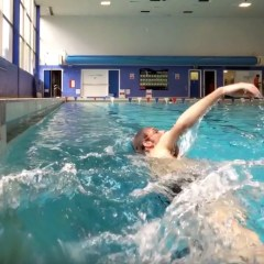 Swimming After Fractured Elbow – Rehabilitation