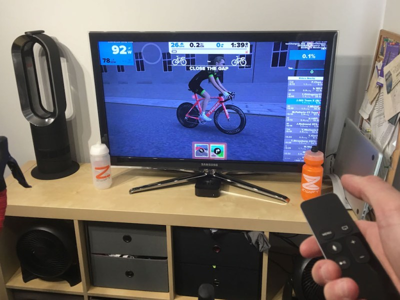 TitaniumGeek IMG 3788 1 Zwift Apple TV   Zwift Completes iOS rollout   ZwiftGearTest Cycling Gear Reviews Zwift  ZwiftGearTest Zwift iOS Zwift ios games cycling   Image of IMG 3788 1
