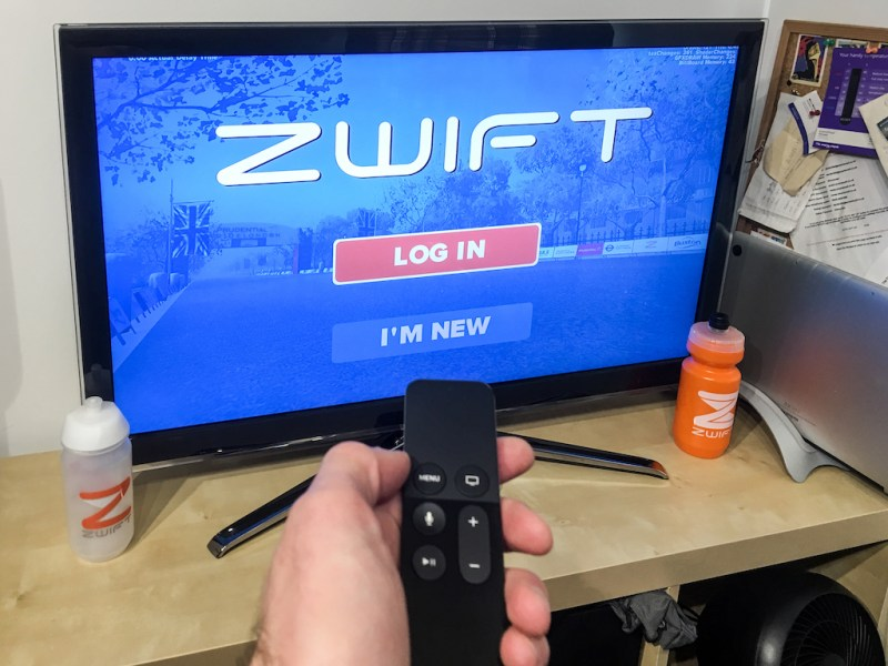 Zwift Apple TV - Zwift Completes iOS rollout - ZwiftGearTest
