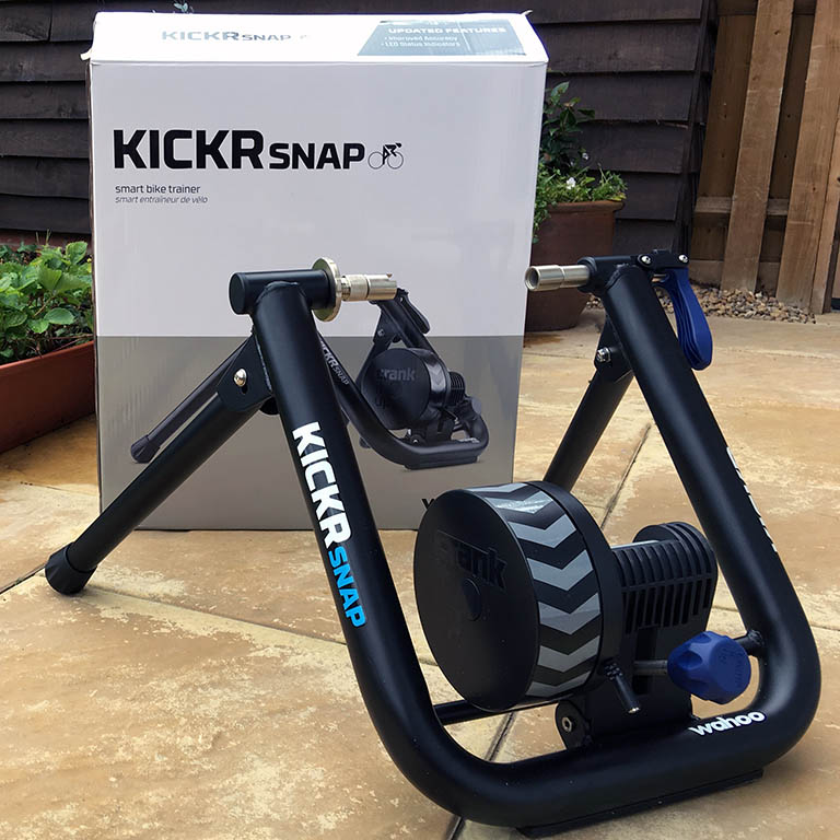 TitaniumGeek IMG 1785 2 Wahoo KICKR SNAP 2017 Review   Zwift Gear Test Cycling Gear Reviews Smart Trainers Zwift  Zwift Gear Test Zwift Wahoo Turbo Trainer power meter KICKR   Image of IMG 1785 2