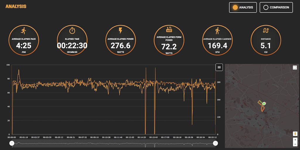 TitaniumGeek Screen Shot 2017 10 28 at 04.43.59 Stryd PowerRace Garmin IQ App Review Gear Reviews Running  training Stryd running power meter   Image of Screen Shot 2017 10 28 at 04.43.59