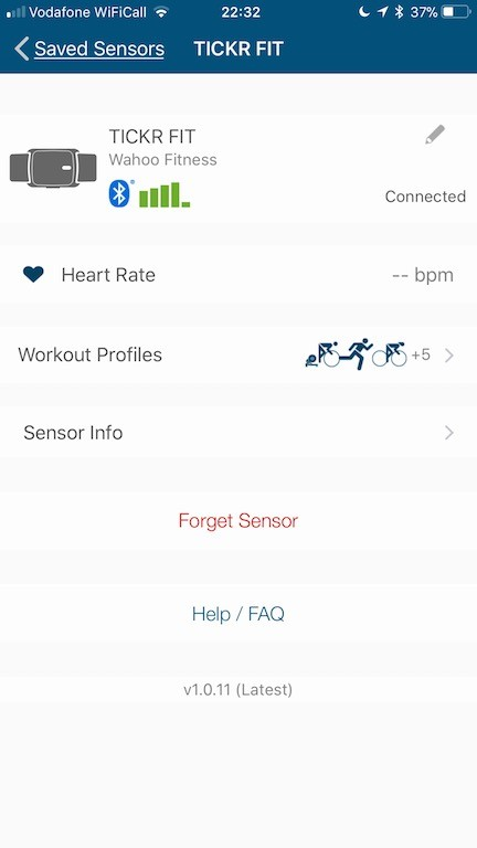 TitaniumGeek IMG 9186 Wahoo TICKR fit Review   Optical Heart Rate Monitor Cycling Gear Reviews Heart Rate Monitors Running  Zwift Wahoo running Polar optical HRM Optical Heart Rate HRM heart rate cycling 4iiii   Image of IMG 9186