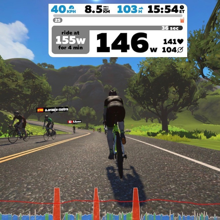 TitaniumGeek IMG 1318 Tacx Neo vs Wahoo KICKR 2017   Zwift Turbotrainer Wars!! Cycling Gear Reviews Zwift  Zwift Wahoo KICKR Wahoo TacX Neo Tacx indoor cycling   Image of IMG 1318