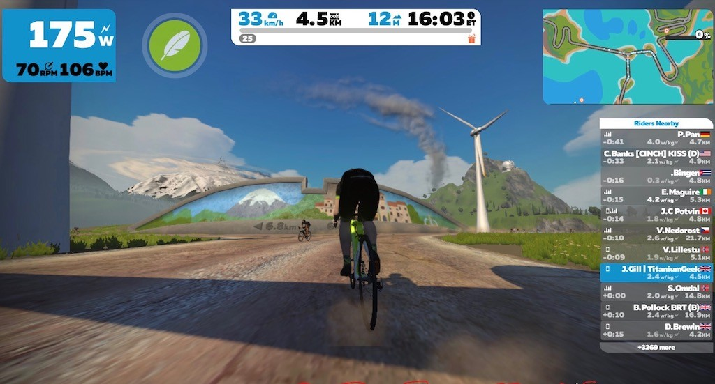 TitaniumGeek IMG_3944-2 Kinetic inRide Power Sensor Review - Zwift Gear Test Zwift power meter Kinetic