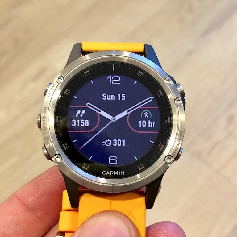 TitaniumGeek IMG 0148 Garmin Fenix 5 Plus Review: When More Can Mean Less Cycling Gear Reviews Heart Rate Monitors Running  Triathlon smart watch running Optical Heart Rate garmin Fenix cycling   Image of IMG 0148