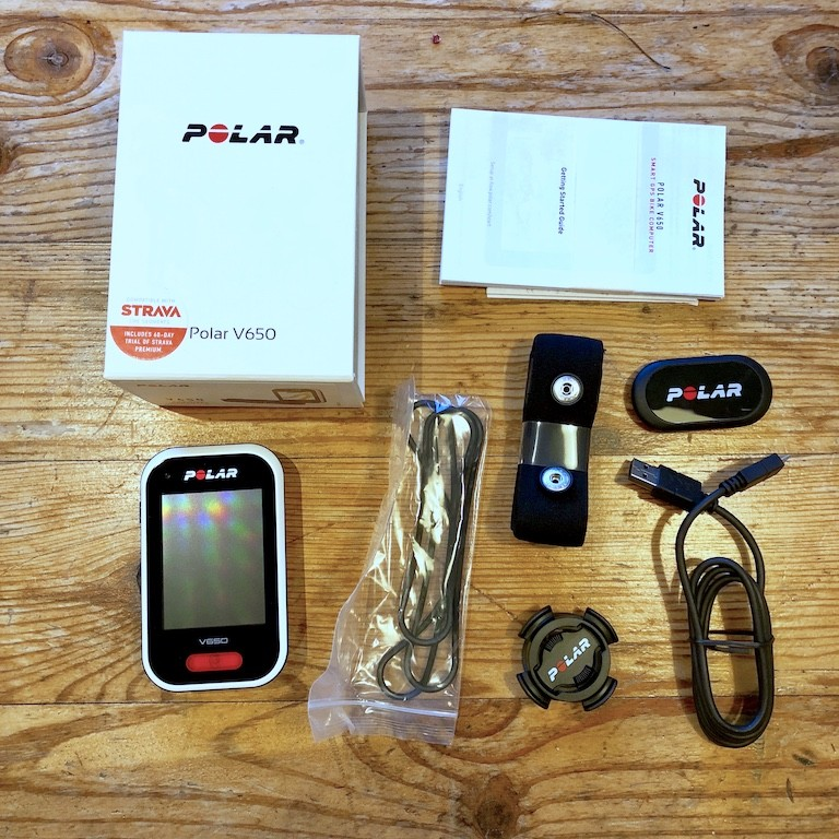 TitaniumGeek IMG 0160 Polar V650 2018 Cycling Computer Review Cycling Cycling Computers and GPS Units Gear Reviews  Polar GPS cycling   Image of IMG 0160
