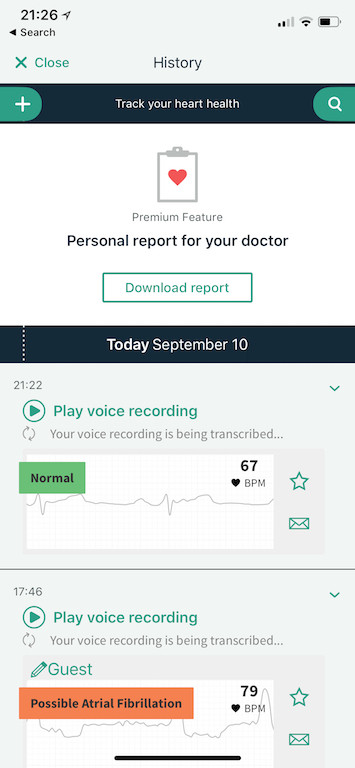 TitaniumGeek IMG D1D257D94D8A 1 AliveCor Kardia Mobile ECG Review Gear Reviews Medical Journals Sports Articles  medicine heart Cardiac atrial fibrillation   Image of IMG D1D257D94D8A 1