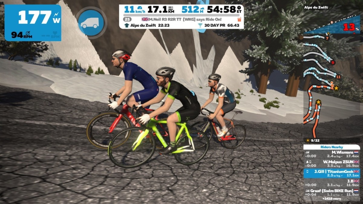 TitaniumGeek IMG 3964 3 Elite Drivo II   Turbo Trainer Review | ZWIFT GEAR TEST Cycling Gear Reviews Smart Trainers  turbo triainer elite drivo ii elite Drivo   Image of IMG 3964 3