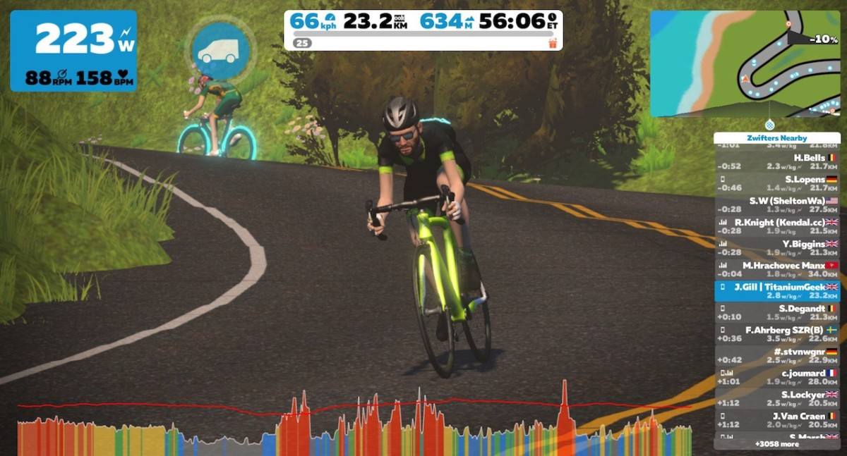 TitaniumGeek IMG 4598 Elite Drivo II   Turbo Trainer Review | ZWIFT GEAR TEST Cycling Gear Reviews Smart Trainers  turbo triainer elite drivo ii elite Drivo   Image of IMG 4598