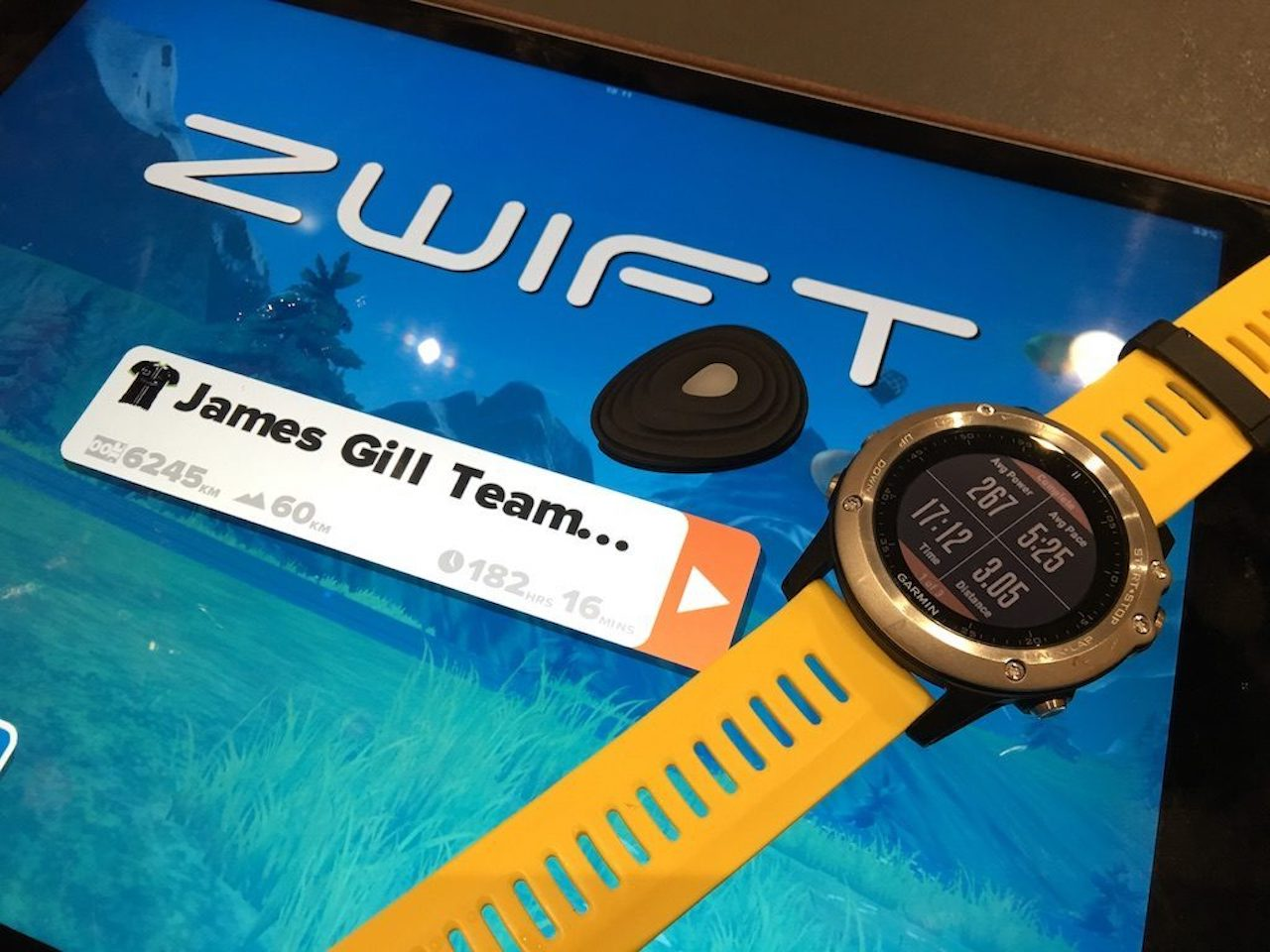TitaniumGeek IMG 1162 1024x768 Zwift RunPod   Your Treadmill Just Got Upgraded! Gear Reviews Running Zwift  Zwift running cadence   Image of IMG 1162 1024x768