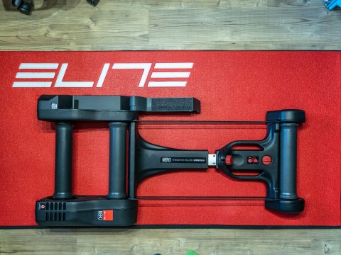 TitaniumGeek Elite Nero 46 of 47 Kurt Kinetic Rock and Roll Smart Control Trainer Review | Zwift Gear Test Cycling Gear Reviews Smart Trainers Zwift  Zwift Gear Test Zwift Smart trainer power meter Kurt Kinetic   Image of Elite Nero 46 of 47