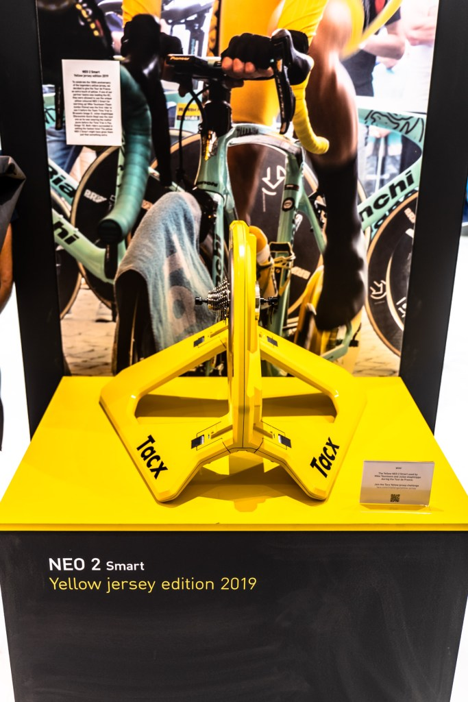 TitaniumGeek Eurobike 125 of 427 1 Tacx Desktop App Review   Can Tacx Compete? Cycling Gear Reviews Smart Trainers  tacx neo 2 Tacx Cycling Software   Image of Eurobike 125 of 427 1