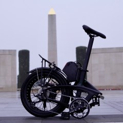 TitaniumGeek A650044 The Gron eBike has us pondering on how to report on eBike tests... Cycling eBike eBike  Sustainable transport Gron ebike Gron folding bikes folding bike eBikes ebike commuting   Image of A650044