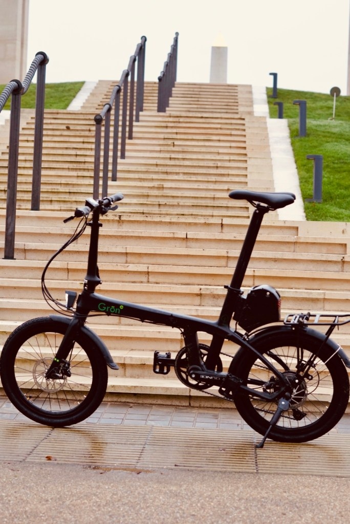 TitaniumGeek A650049 The Gron eBike has us pondering on how to report on eBike tests... Cycling eBike eBike  Sustainable transport Gron ebike Gron folding bikes folding bike eBikes ebike commuting   Image of A650049