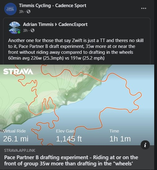 TitaniumGeek Ada Zwift   Jedi Drafting Skills Cycling Indoor cycling Smart Trainers Turbo training Turbo Training Zwift  zwift racing Zwift pace partners gaming esport eracing drafting. cadence sport bike fit   Image of Ada