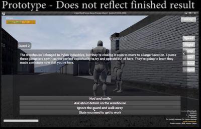 Vidéo du prototype des missions dans city of titans