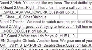 Création des dialogues sous Excel