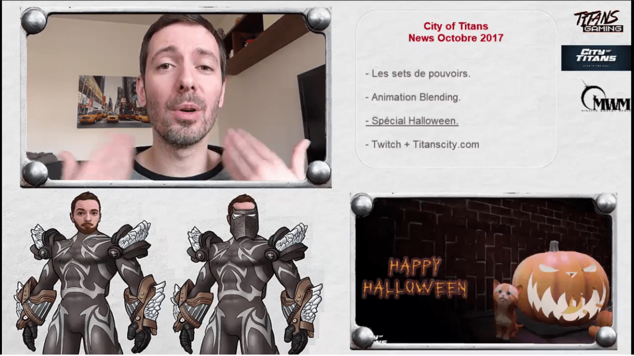 Titans Gaming : les news d'Octobre
