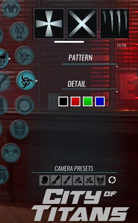 capture d'écran de l'interface