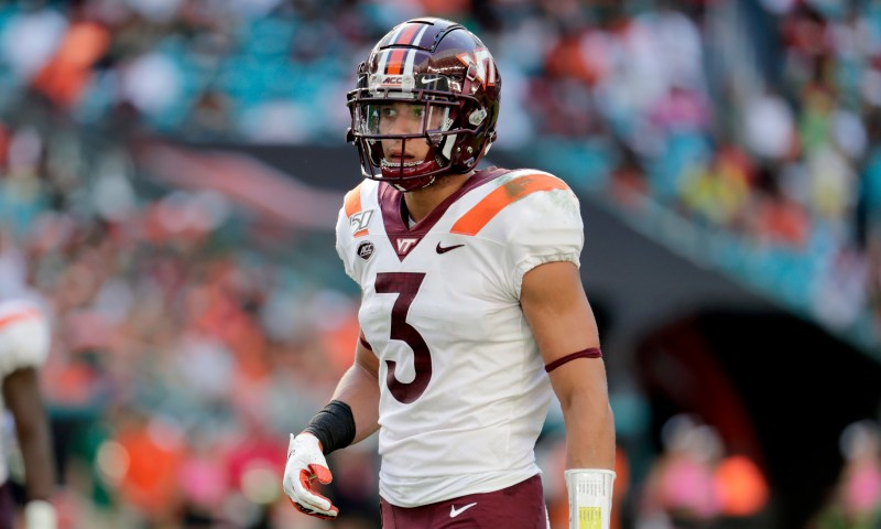 2021 NFL draft scouting report for Caleb Farley of Virginia Tech