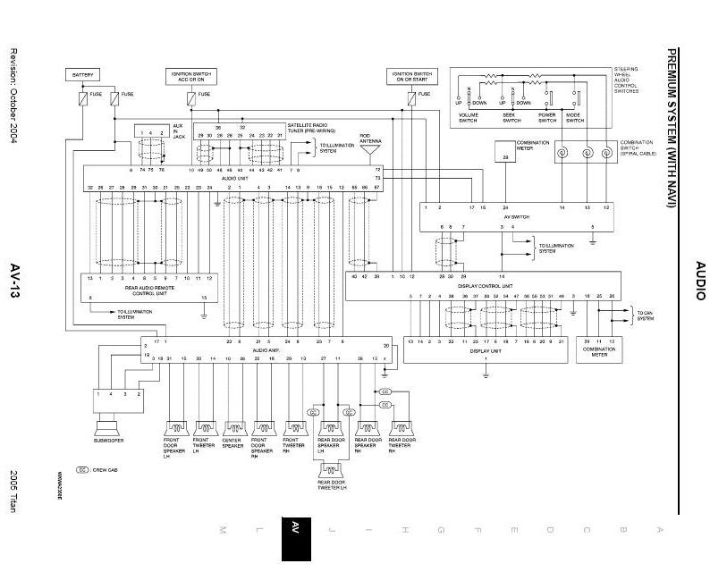Rockford Fosgate System Wiring Schematic FYI