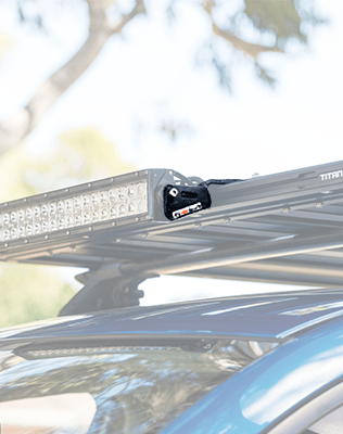 Titan LED Lightbar Bracket