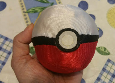 A Pokeball from my kids' Pokemon collection