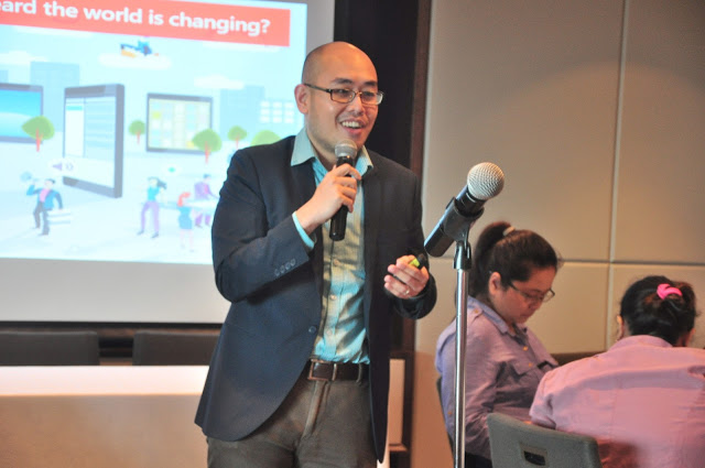 Christian Lim, Office Marketing Business Group Lead for Microsoft Philippines
