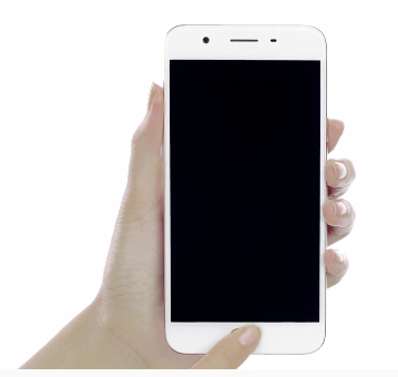 Customizable, finger-activated access to favorite apps (photo from OPPO website)