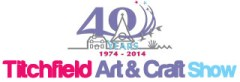 Titchfield Art & Craft Show 2014 logo