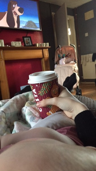 Costa and a movie with my titch. So many fun Christmas things to do