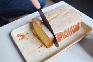 Matt cutting another slice