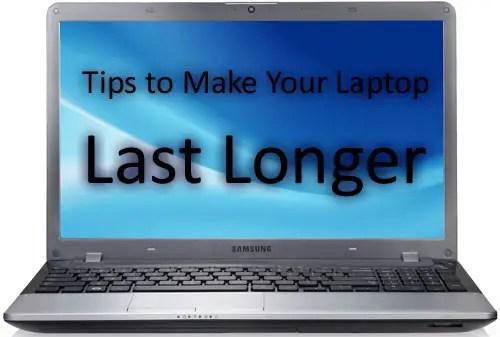Make Laptop Last Longer