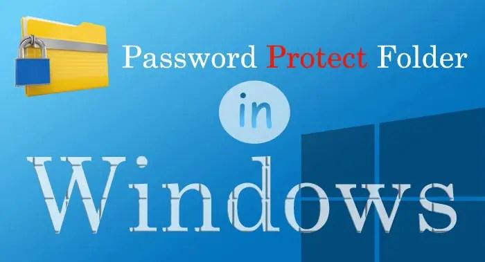 secure a folder