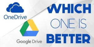 Microsoft OneDrive vs Google Drive : Compare Google Drive to OneDrive