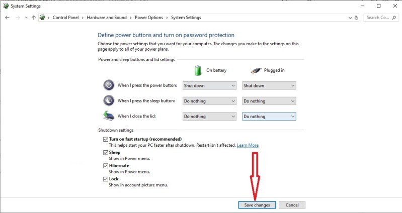 Add Hibernate Option To Windows 10
