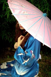 Under the Japanese Umbrella