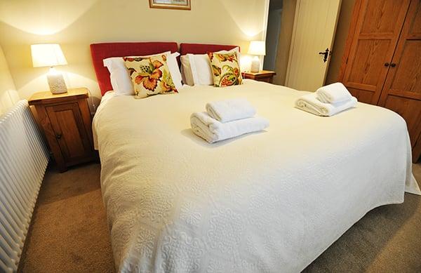Byre Cottage Master Bedroom