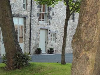 Hayloft Cottage Entrance
