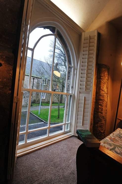 Hayloft Cottage Feature window