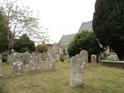 Churchyard of Alverstoke Parish church