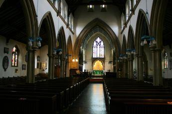 Inside Alverstoke Parish Church
