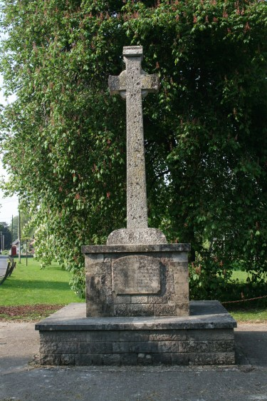 War memorial at Cheriton