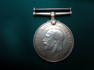 British War Medal of William Westcott, South Wales Borderers