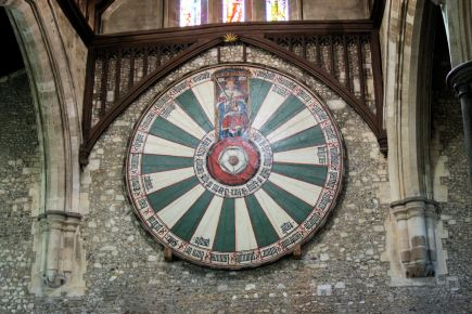 Round Table in the Great Hall Winchester
