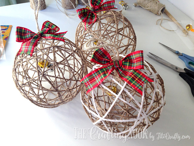 Diy christmas ornaments holiday your home 5 adventure home 25 diy christmas ornament ideas to do with your kids with friends or by solutioingenieria Choice Image