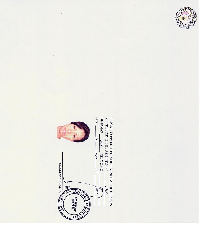 GRADO DE BACHILLER - PROMO 2006 - 2
