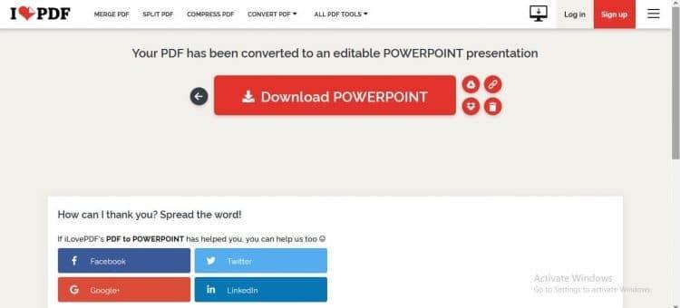 PDF ke PPT iLovePDF Download
